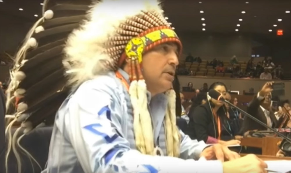 UN Permanent Forum on Indigenous Issues – Joint Statement by National Chief Bellegarde