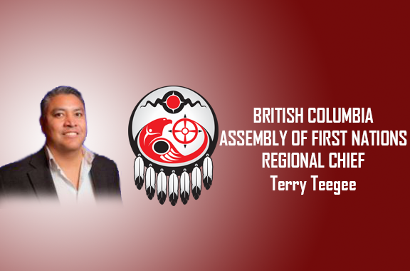 Assembly of First Nations National Chief Perry Bellegarde Congratulates Newly Elected AFN British Columbia Regional Chief Terry Teegee